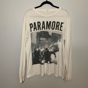 Paramore long sleeve graphic tee
